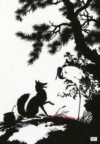 иллюстрация к басне лисица и ворона.jpg