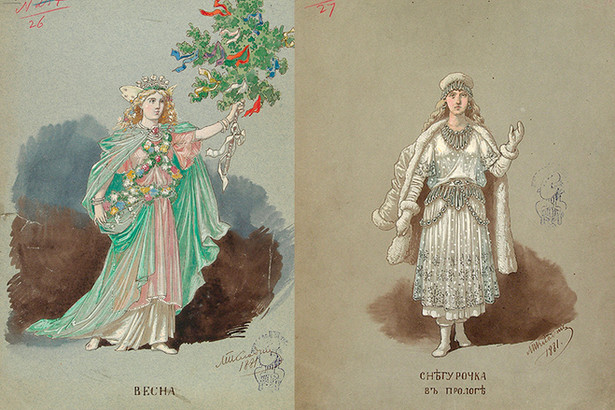 М.Клодт Весна и Снегурочка
