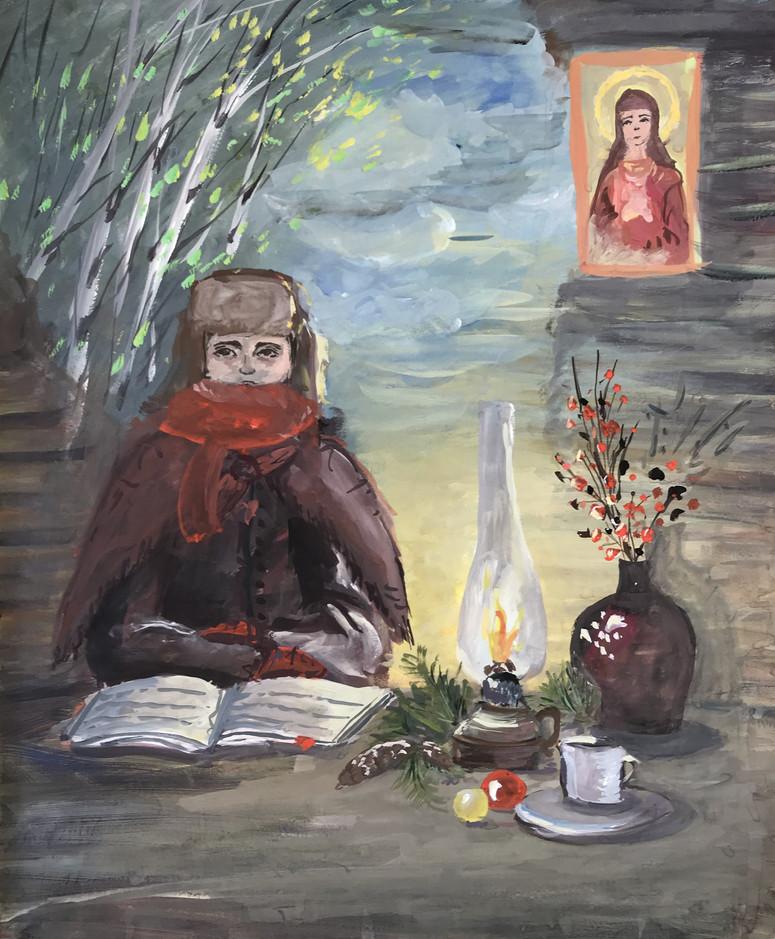 София Сенченко 13 лет, Мечты о мире. Преподаватель Ремишевский В.Б.