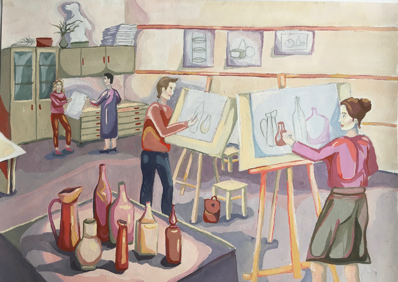 В художественной школе 3