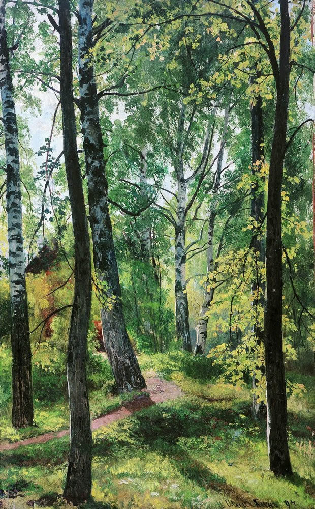 № 11. И.И. Шишкин. Лиственный лес. Ист.и