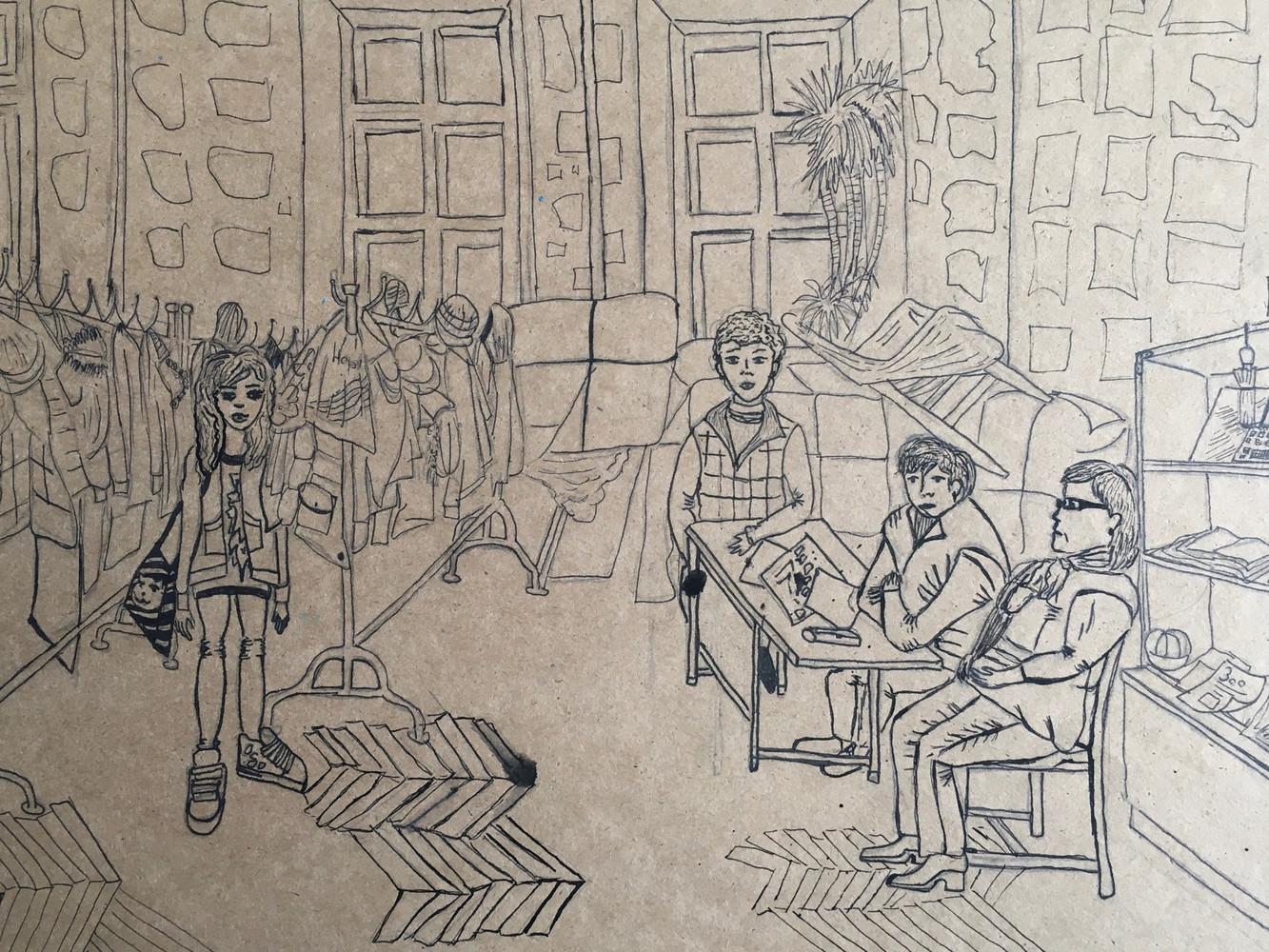 1 Зарисовка