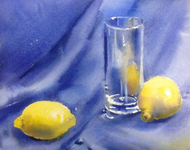 Стеклянный стакан и лимоны.jpg
