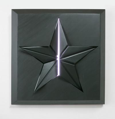 Black star-Раскол 130х120. Вадим Григорьев-Башун