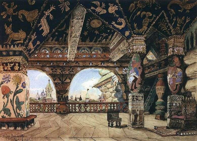 В.М.Васнецов Дворец царя Берендея