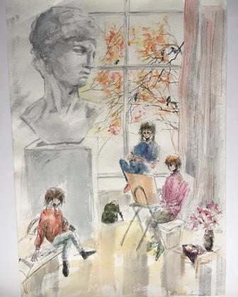 В художественной школе 1