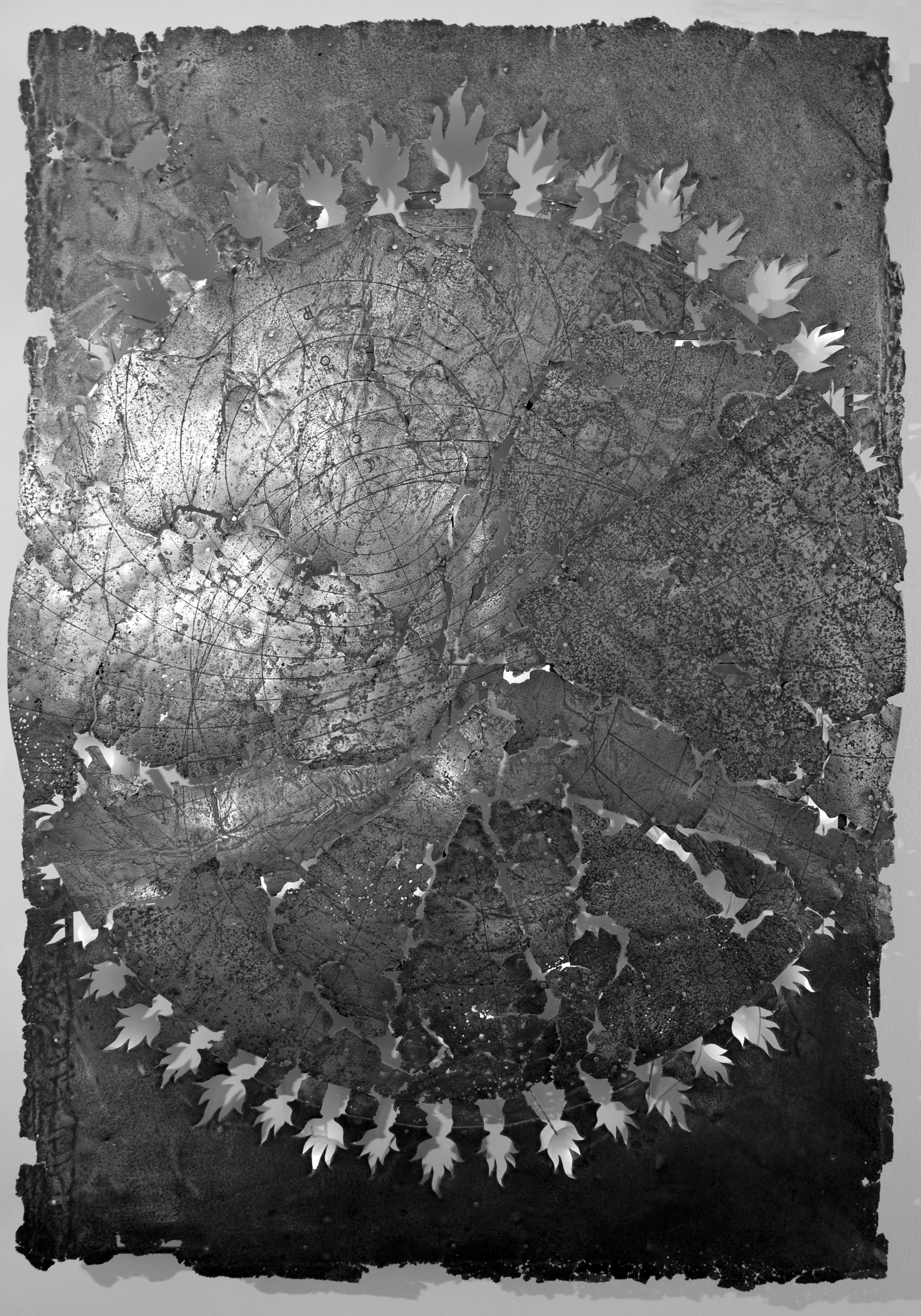 Агни. 1997. (сталь, печатная форма) 1300х1000