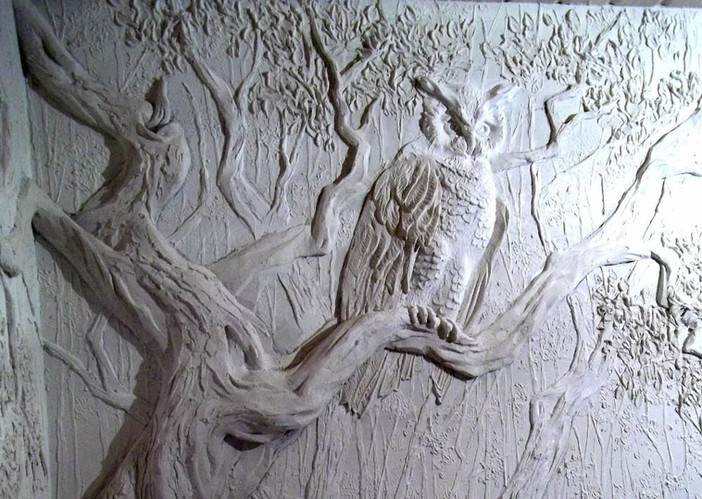 № 6.Лепка 7 Филин на дереве.jpg
