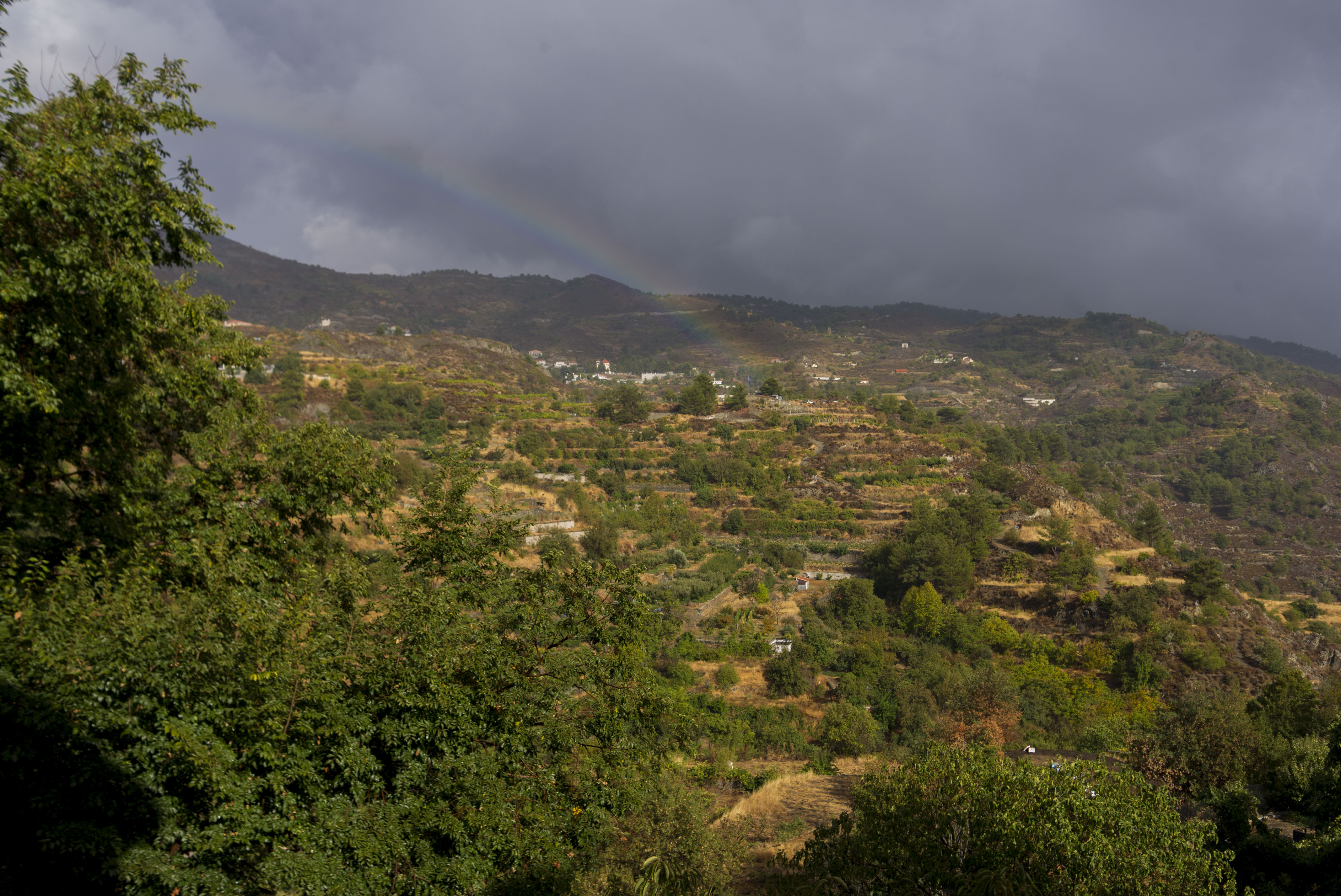 Кипр - радуга