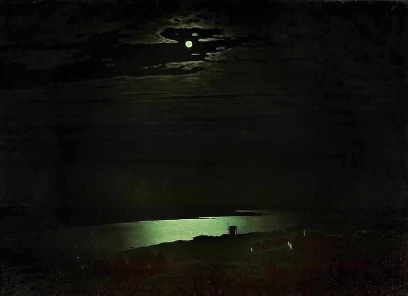 №17. А. Куинджи. Лунная ночьна Днепре Ис