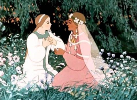 Снегурочка и Весна (мультфильм)