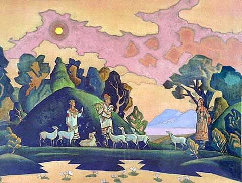 Н.Рерих Святой пастырь