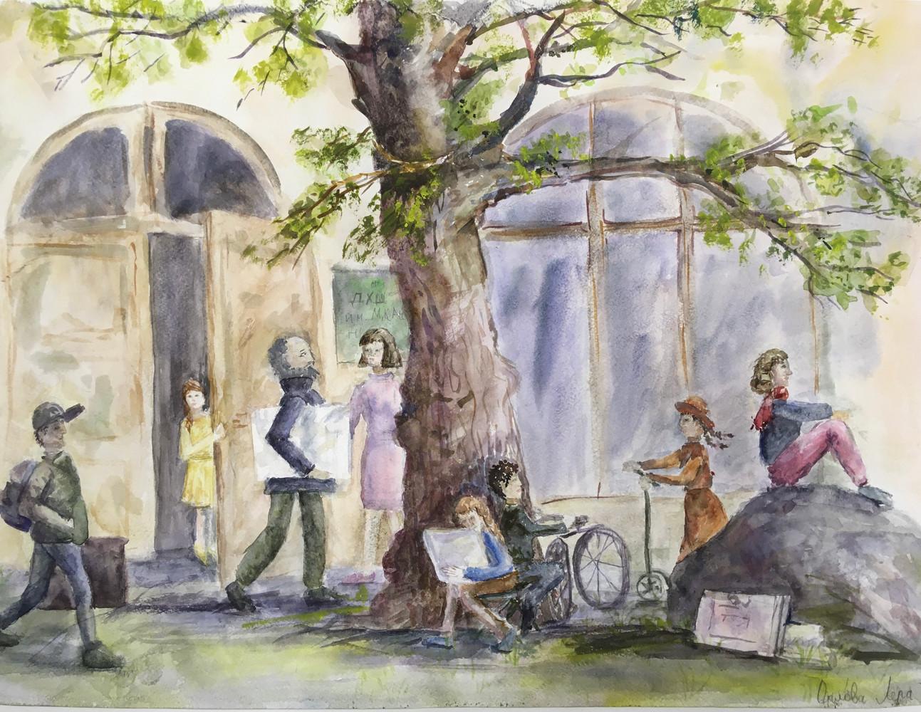 Орлова Валерия, 14 лет, Школа в Кронштадте начало творческой жизни.