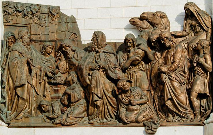 №3 Лепка 8 Встреча Авраама с Мельхиседек