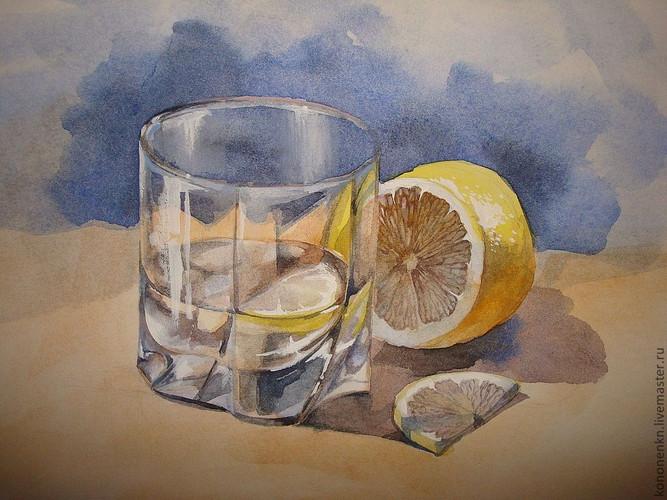 Стеклянный стакан с лимоном.jpg