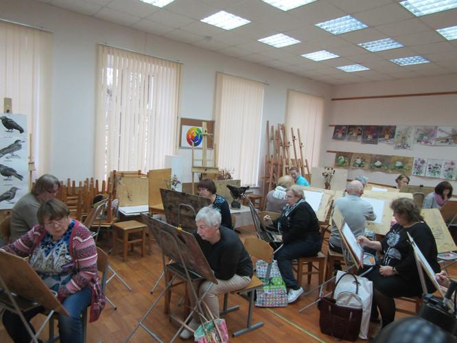 Маломобильные граждане КСЦОН на занятиях