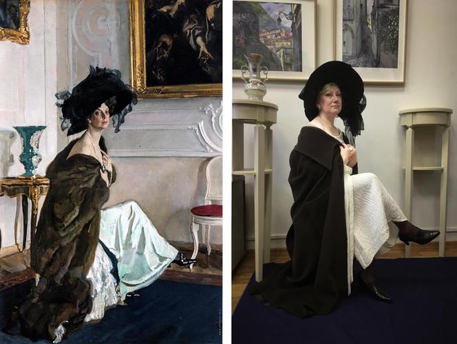 Серов. Портрет княгини Ольги Орловой