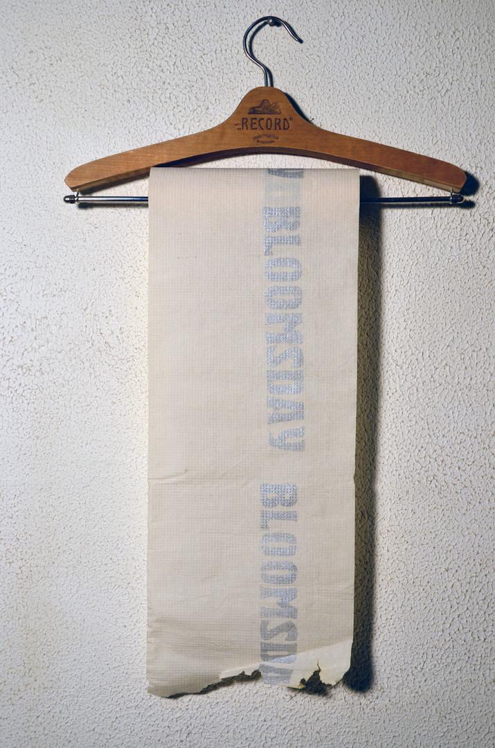 Книжный объект «BLOOMSDAY» Музей В.В. Набокова. 2001г. Санкт-Петербург
