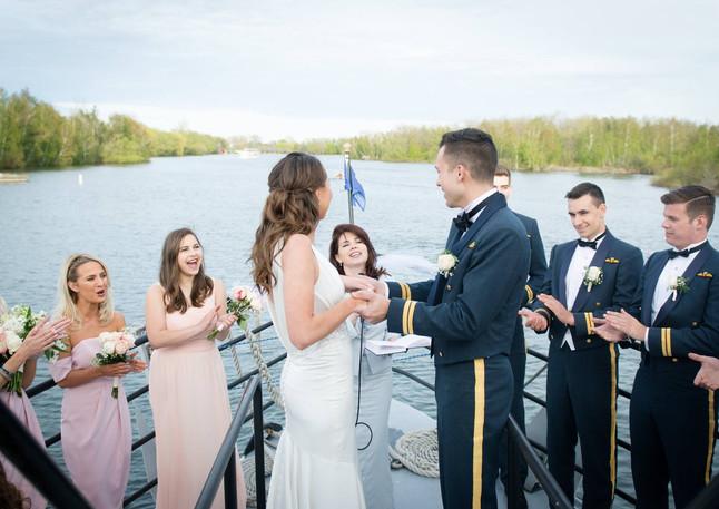 Wedding Ceremony by the Lake - Olesya Tsvok