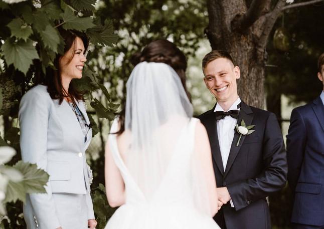 Wedding Officiant Outdoor Wedding Olesya Tsvok