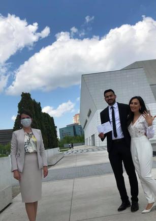 wedding licence urgent