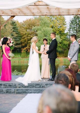 Outdoor Gazebo Backyard Wedding Olesya Tsvok