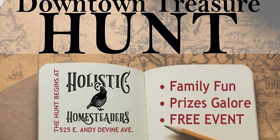 February's First Friday - Downtown Treasure Hunt