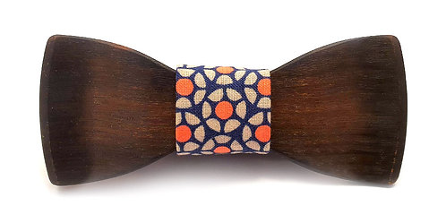 Burnt Blackwood Bow Tie
