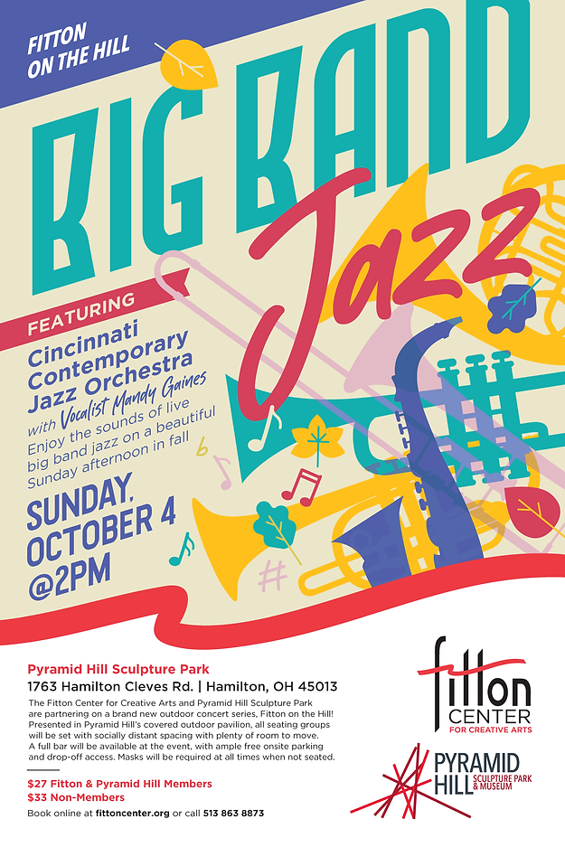 Fitton on the Hill_Poster_Big Band Jazz-