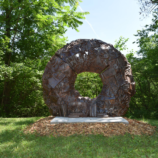 'Eudora Welt Wreath' by Kristen Tordella-Williams