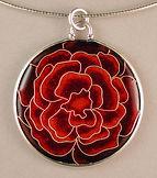 Rose Cloisonne Pendant.JPG