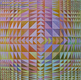 Diminishing Triangles, 24 x 24.JPG
