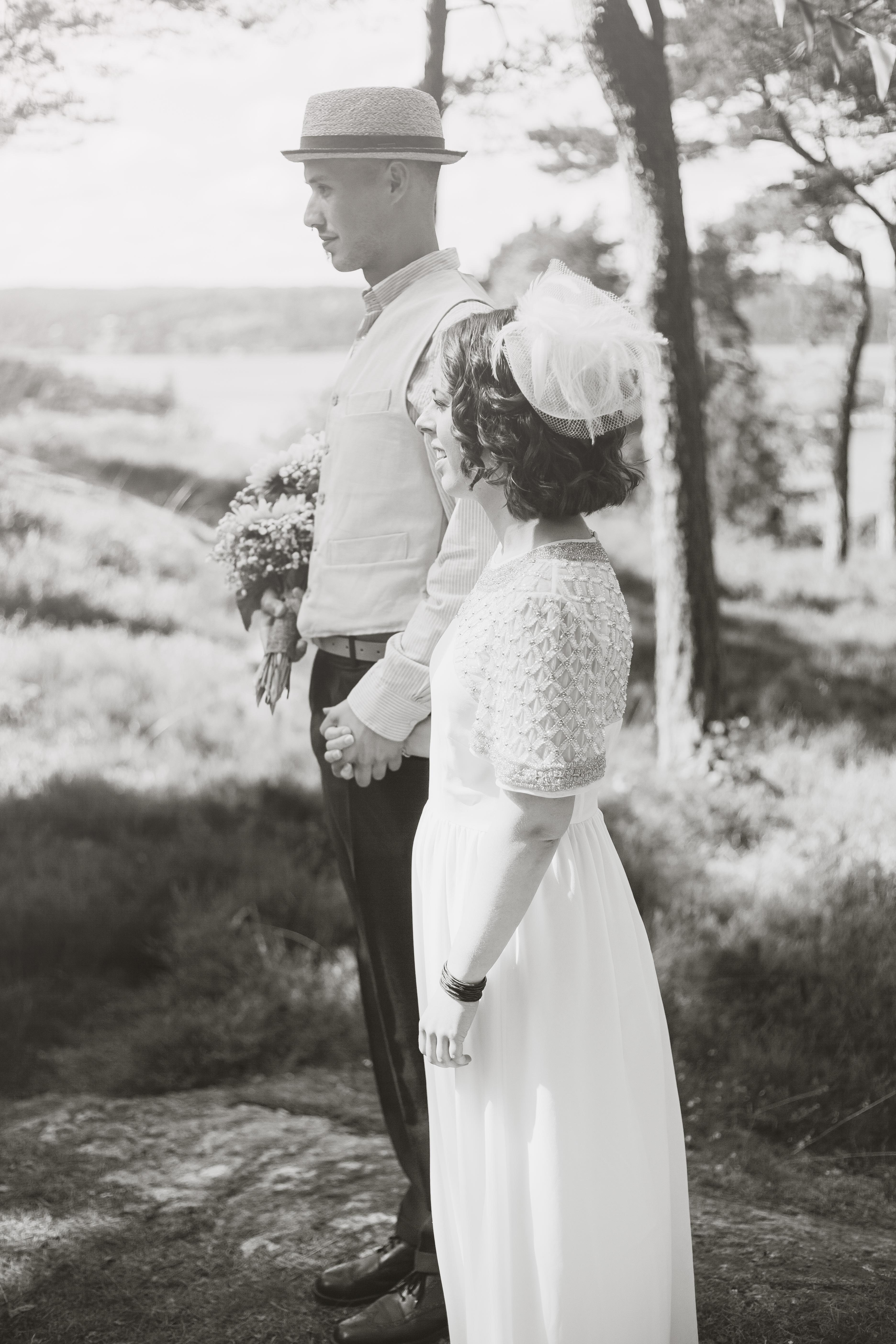 Bröllopsfotografering Ljungskile - U
