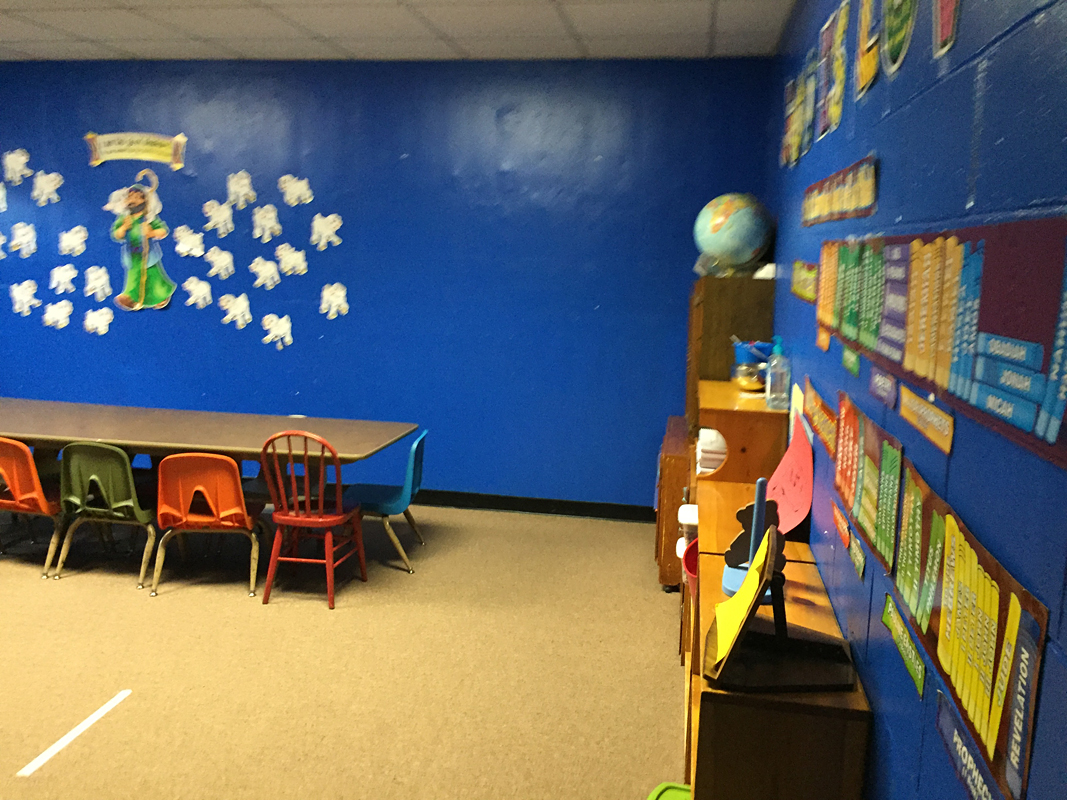 2016 - Classroom for 4 and 5-year-olds (downstairs)