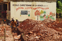 2016 - A 6-room addition being added to the barefoot school in Haiti