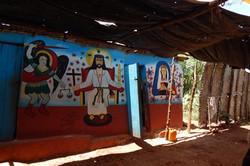 2016 - A voodo priest compound in Haiti
