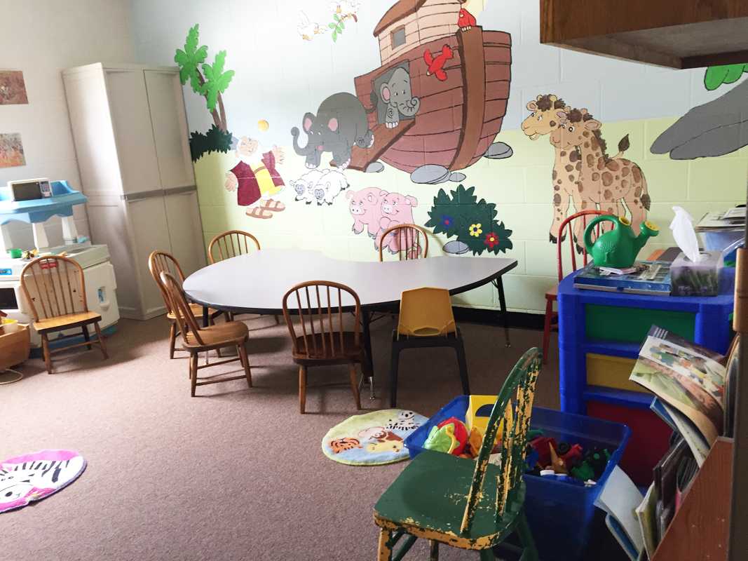 2016 - Classroom for 2- and 3-year-olds (downstairs)