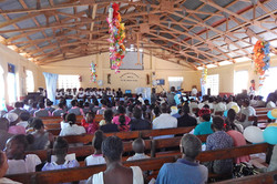 2016 - Worship service on Sunday in Mare Rouge, Haiti