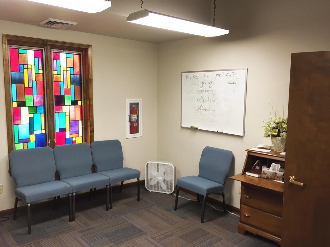 2016 - Senior Adult Classroom (off Worship Center)