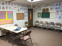 2016 - First & Second Grade Classroom (downstairs)