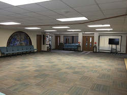 2016 - Fellowship Hall (leading into worship center)