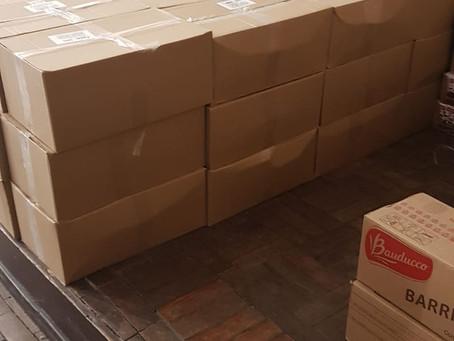 ISERJ faz a primeira distribuição de cestas básicas
