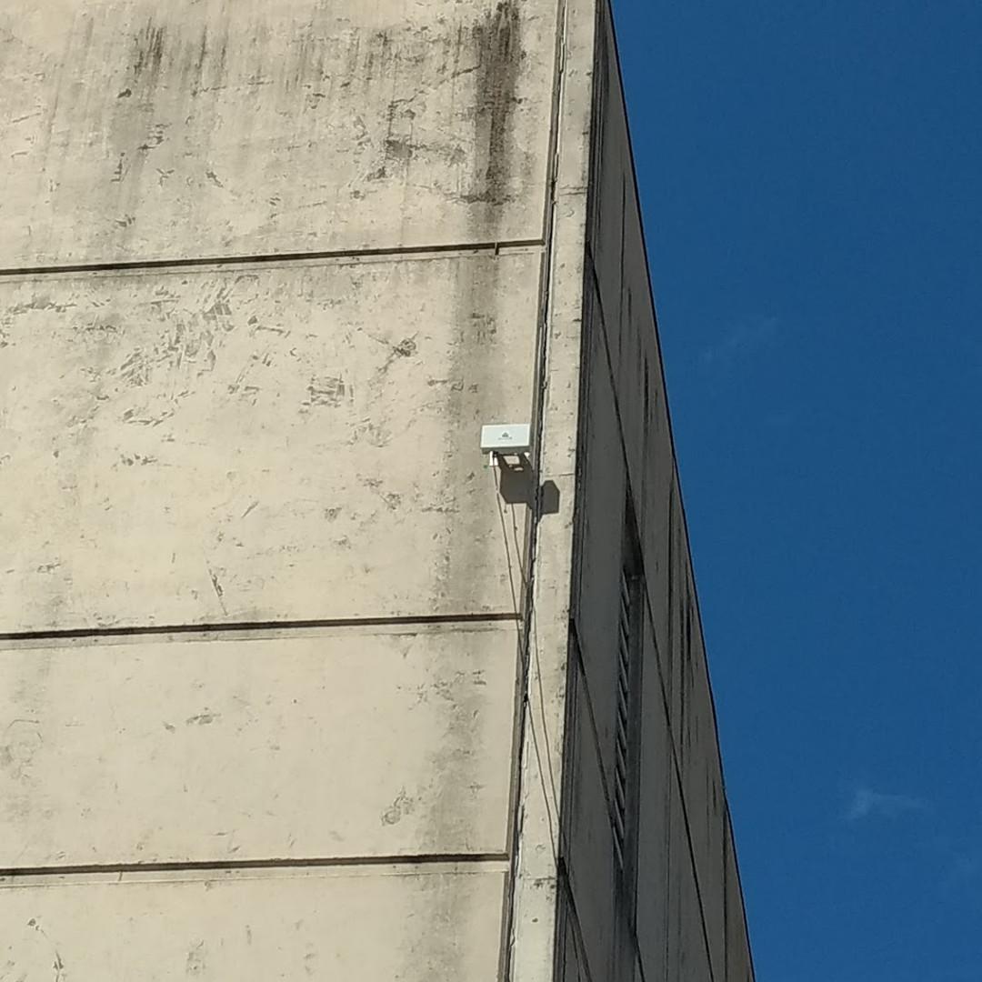 Radar instalado em centro de distribuição