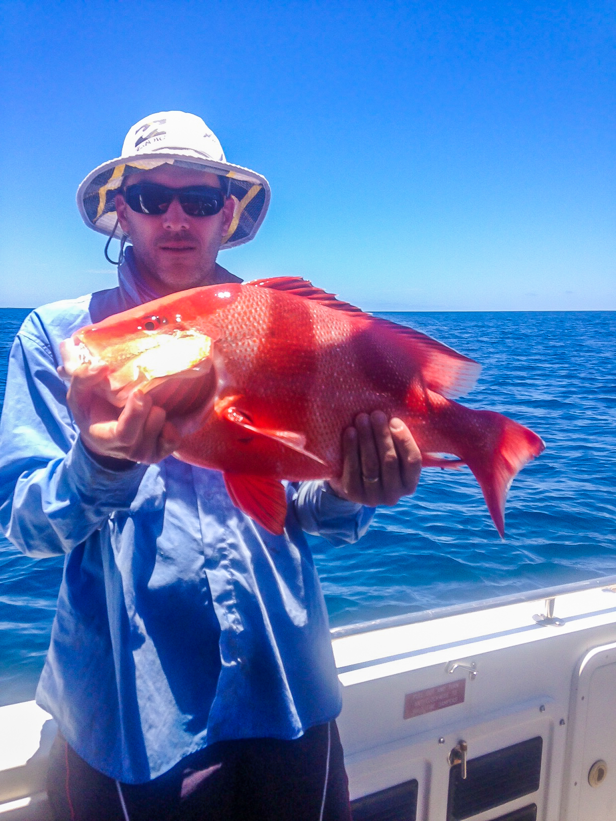 offshore reef fishing