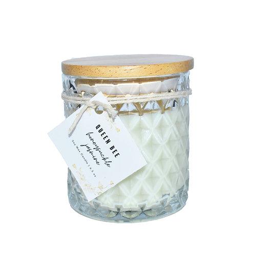 Queen Bee Candle - Honeysuckle Jasmine