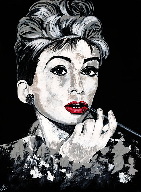 Giclee Print 'Style Icon that is Audrey'