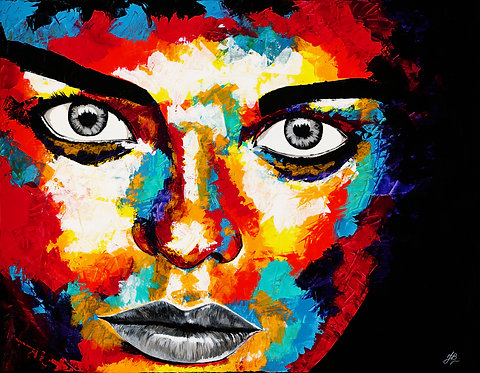 Giclee Print 'Stare into the Soul'