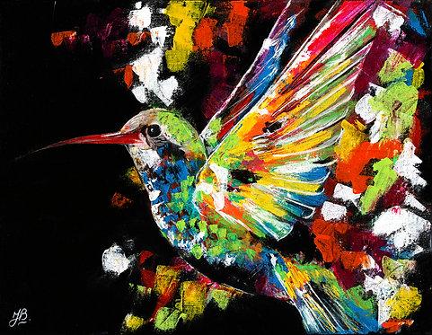 Glicee Print 'Hummingbird'