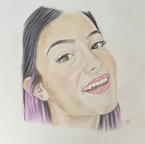 A3 Commissioned Pencil drawings (Coloured Pencil)