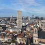 Vue Bruxelles depuis Poelaert